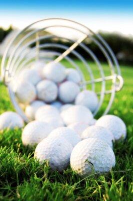 Quadro Jogo de golfe.