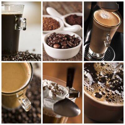 Quadro Kawa - kolaż
