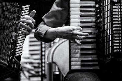Quadro Konzert Handharmonika Club, Akkordeon Orchester, Detalhe