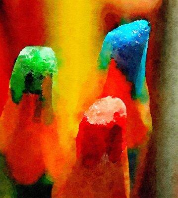 Quadro Lápis de cor