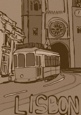 Quadro Lisbon Vintage