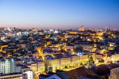 Quadro Lissabon in der Dämmerung