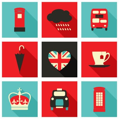 Quadro Londres Icons Collection