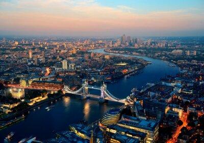 Quadro Londres na noite