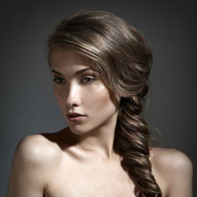 Quadro Long Hair Brown