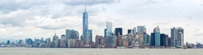 Quadro Lower Manhattan em Nova York Panorama