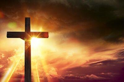 Quadro Luzes da Bênção do Crucifixo