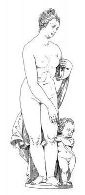 Quadro Mãe e Filho