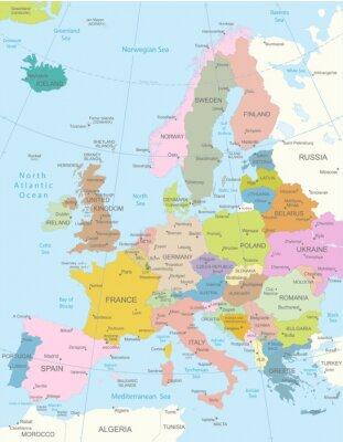 Quadro Map.Layers Europa-altamente detalhados utilizados.