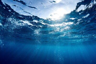 Quadro Mar Azul