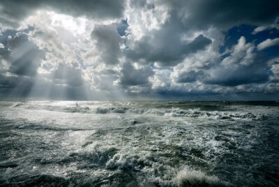 Quadro Mar bravo