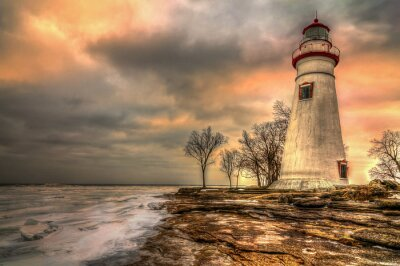 Quadro Marblehead Lighthouse HDR