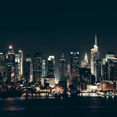 Quadro Midtown Manhattan Skyline