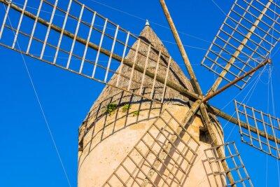 Quadro moinho de vento velho