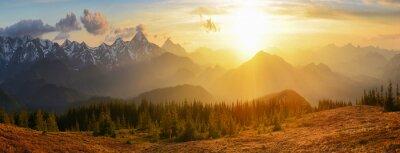 Quadro Montanhas POR DO SOL