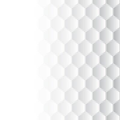 Quadro Mosaico Hexagonal