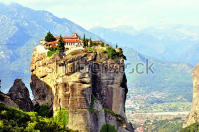 Quadro Mosteiros de Meteora, ao norte da Grécia, na região da Tessália
