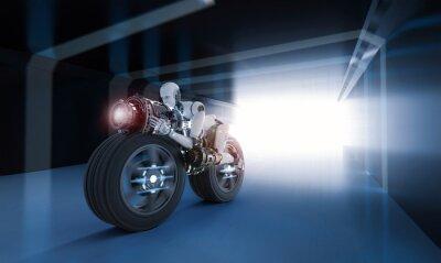 Quadro movimento da velocidade do robô