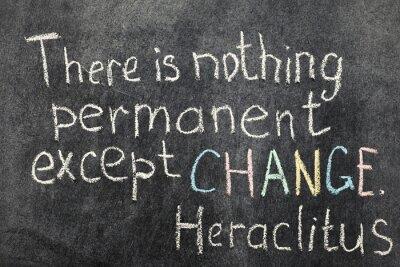 Quadro mudança é permanente