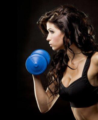 Quadro Mulher de fitness