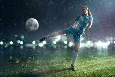 Quadro Mulher do futebol