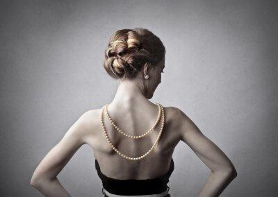 Quadro Mulher Elegante