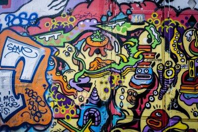 Quadro Mur divertida de grafite