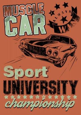 Quadro Muscle car