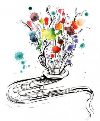 Quadro música