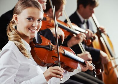 Quadro Música clássica