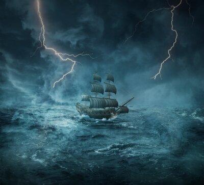 Quadro navio fantasma