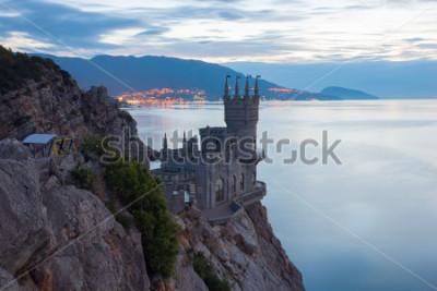 Quadro Ninho de andorinha do castelo famoso perto de Yalta