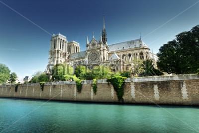 Quadro Notre Dame Paris, França