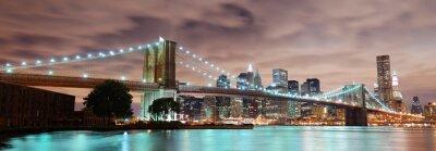 Quadro Nova York panorama
