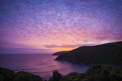 Quadro Nugget Point Catlins Nova Zelândia à noite