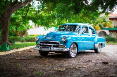 Quadro O carro velho em Cuba
