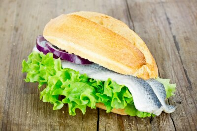 Quadro O peixe rola