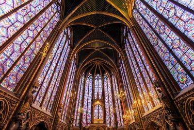 Quadro O Sainte Chapelle em Paris