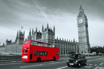 Quadro Ônibus em Londres