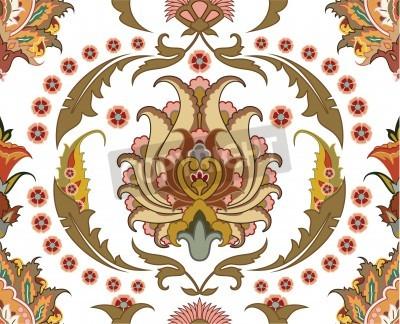 Quadro Ornamento sem emenda com design leste