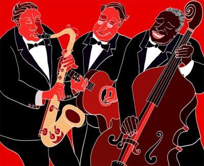 Quadro Orquestra de jazz