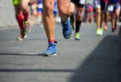 Quadro Os corredores de maratona
