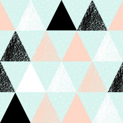Quadro Padrão geométrico abstrato