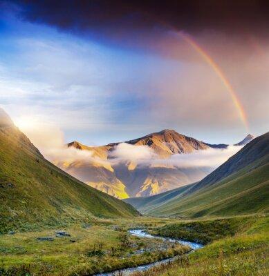Quadro Paisagem da montanha