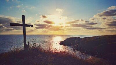 Quadro Panorâmico, amanhecer, litoral, bulgária