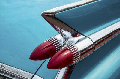 Quadro Para trás do carro do vintage