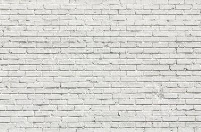 Quadro Parede de tijolo branca