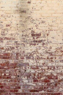 Quadro Parede de tijolo velha em um fundo