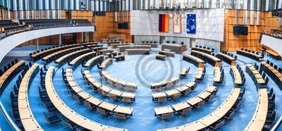 Quadro Parlamento do Estado em Berlim
