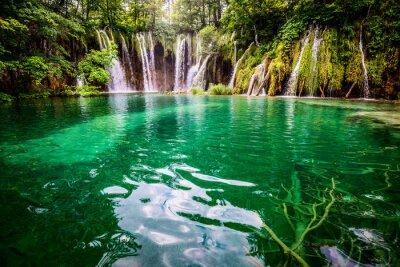 Quadro Parque nacional PlitvickaJezera Croácia